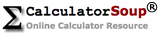 Calculator Soup Online Calculator Resource